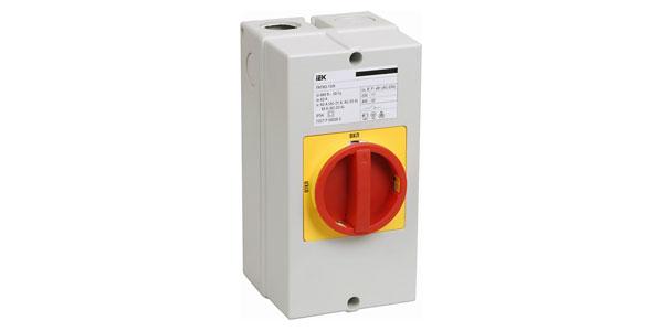Исполнение «К» — переключатели в корпусе (Конструктивно выполнены в пластиковом корпусе со степенью защиты IP54